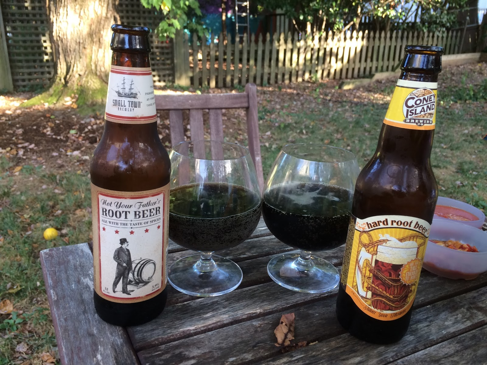 coney island hard root beer vs not your father u0027s root beer in